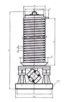 DZC垂直振動提升機外形